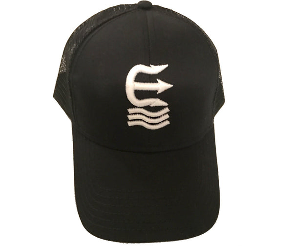 logo raised trucker hat