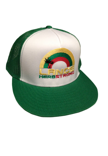 lance green trucker hat