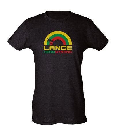 lance herbstrong womens s/s tee