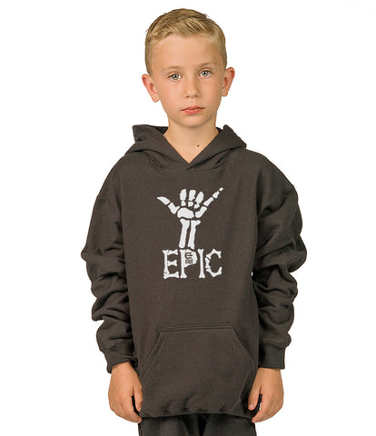 shaka epic youth pullover hoodie