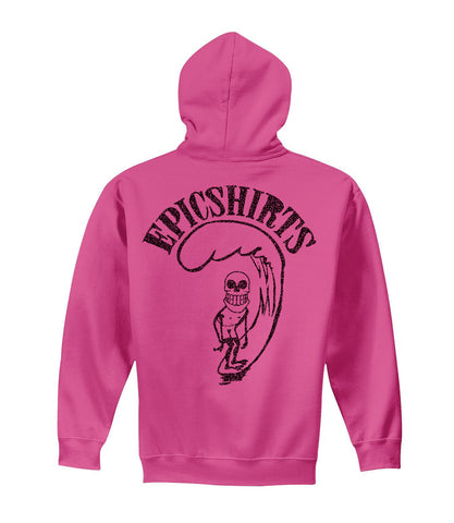 froth pink pullover hoodie youth