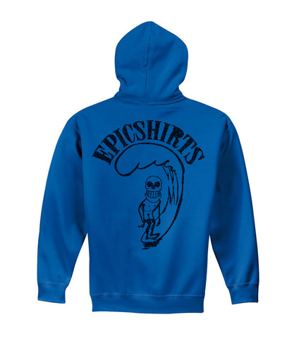 froth blue pullover hoodie youth