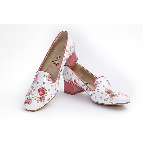 Flowers Career Heel Shoes BYZ201 - Goby NEEFS Career Heel Shoes