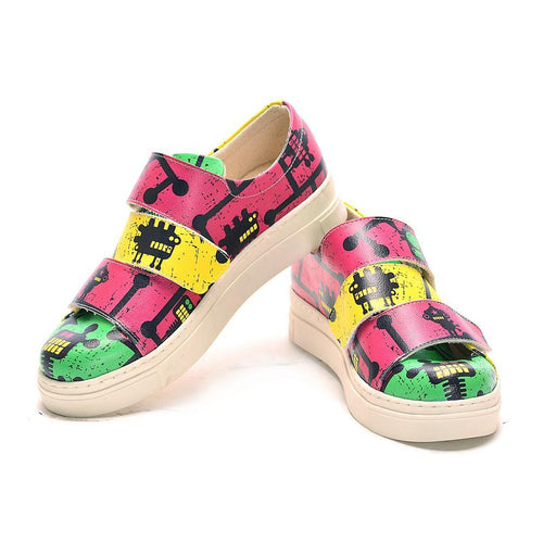 Robotania Slip on Sneakers Shoes NAC101