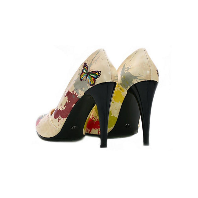 Butterfly Heel Shoes NBS203, Goby, NEEFS Heel Shoes