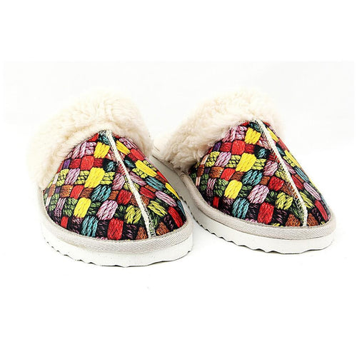 Rope Weave Shearling Slipper NCT103