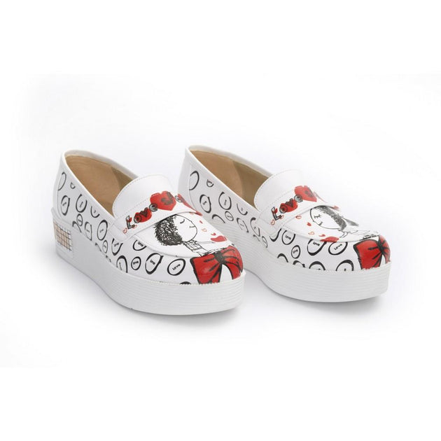 Love Slip on Sneakers Shoes NFS501