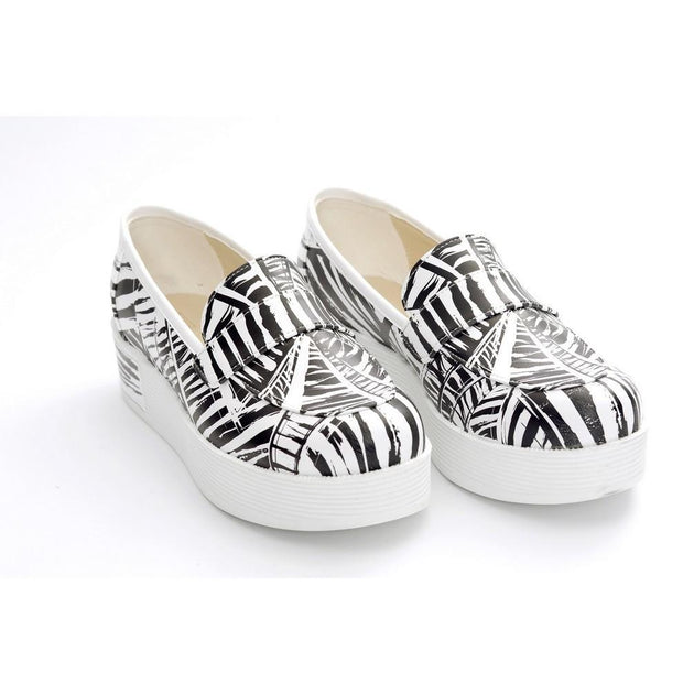 Pattern Slip on Sneakers Shoes NFS505