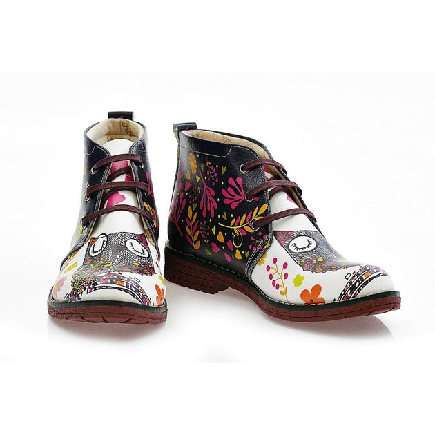 Sweet Owl Ankle Boots NHP104