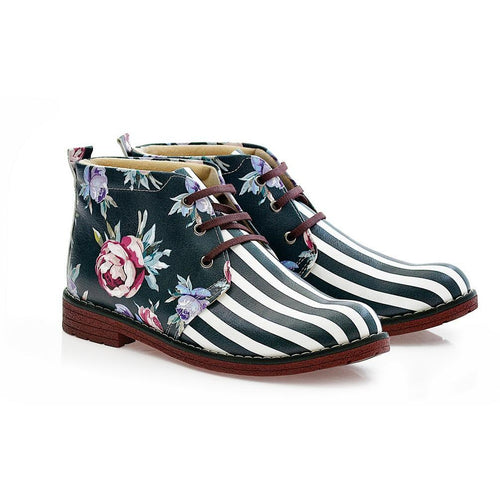 Flowers Ankle Boots NHP111 - Goby NEEFS Ankle Boots