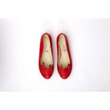 Red Cat Ballerinas Shoes NKB18
