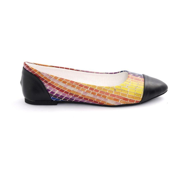 Colored Wall Ballerinas Shoes NMS102 - Goby NEEFS Ballerinas Shoes