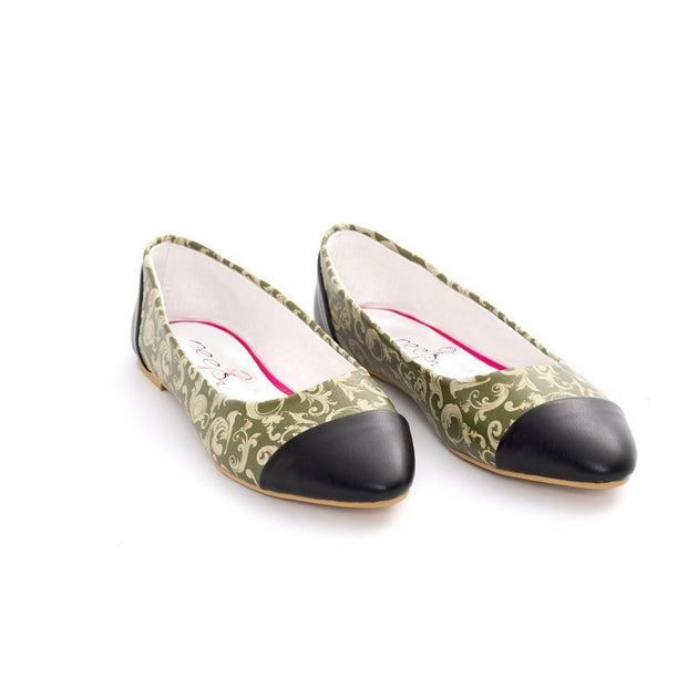 Pattern Ballerinas Shoes NMS104