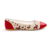 Butterfly Ballerinas Shoes NMS105, Goby, NEEFS Ballerinas Shoes