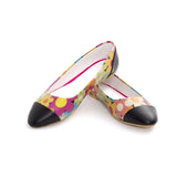 Flowers Ballerinas Shoes NMS106 - Goby NEEFS Ballerinas Shoes