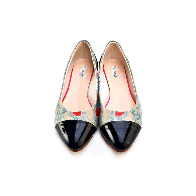 Ballerinas Shoes NMS111, Goby, NEEFS Ballerinas Shoes