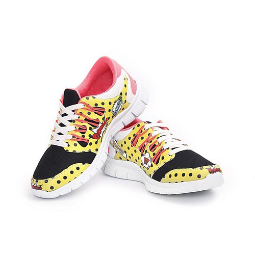 Pop Art Flexible Sport Shoes NPS102