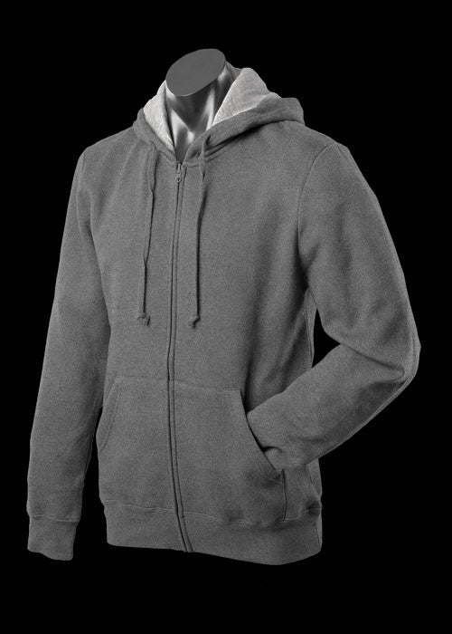 Mens Kozi Zip Through Hoodie