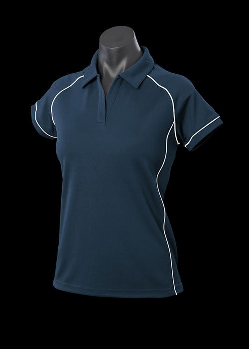 Ladies Navy Endeavour Polo