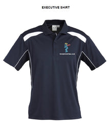 Saints Softball Mens United Short Sleeve Polo - Executive