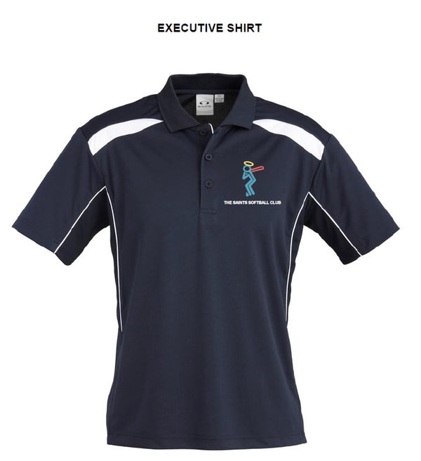 Saints Softball Ladies United Short Sleeve Polo - Executive