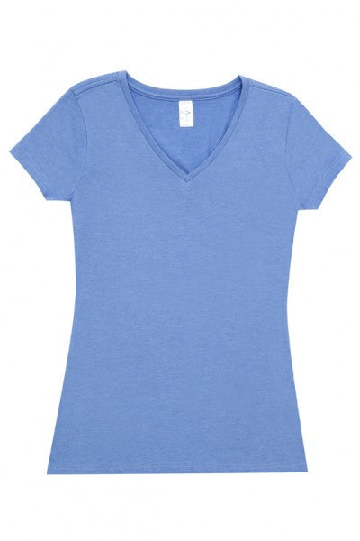 Ladies V-Neck Marl Tee