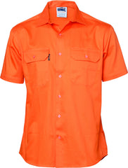 HiVis Cool-Breeze Cotton Short Sleeve