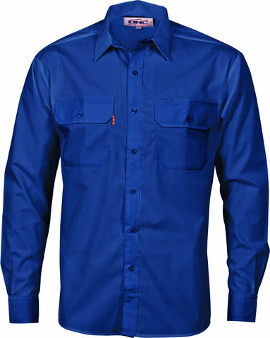 Picture of Polyester Cotton Long Sleeve Work Shirt