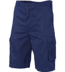 DNC Lightweight Cool-Breeze Cotton Cargo Shorts