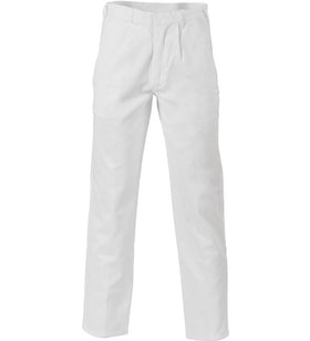 DNC Cotton Drill Work Trousers - Stout