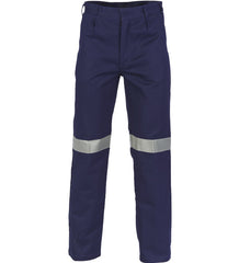 DNC Cotton Drill Pants with 3M R/Tape - Regular/Stout/Long