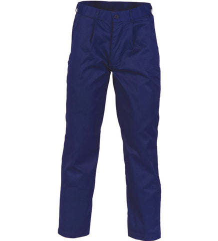 Picture of DNC Polyester Cotton Pleat Front Work Pants - Regular/Stout
