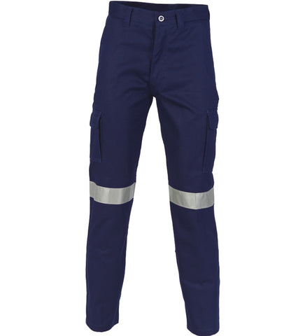 Picture of DNC Cotton Drill Cargo Pants with 3M R/Tape - Regular/Stout/Long