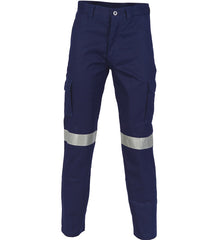 DNC Cotton Drill Cargo Pants with 3M R/Tape - Regular/Stout/Long