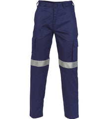 DNC Lightweight Cotton Cargo Pants with 3M R/Tape - Regular/Stout/Long