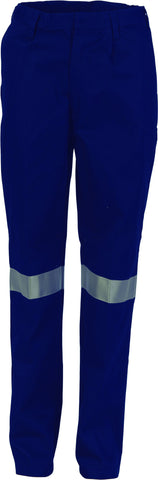 Picture of Ladies Cotton Drill Pants With 3M Reflectiv Tape