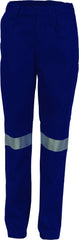 Ladies Cotton Drill Pants With 3M Reflectiv Tape