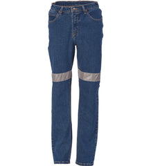 DNC Ladies Taped Denim Stretch Jeans
