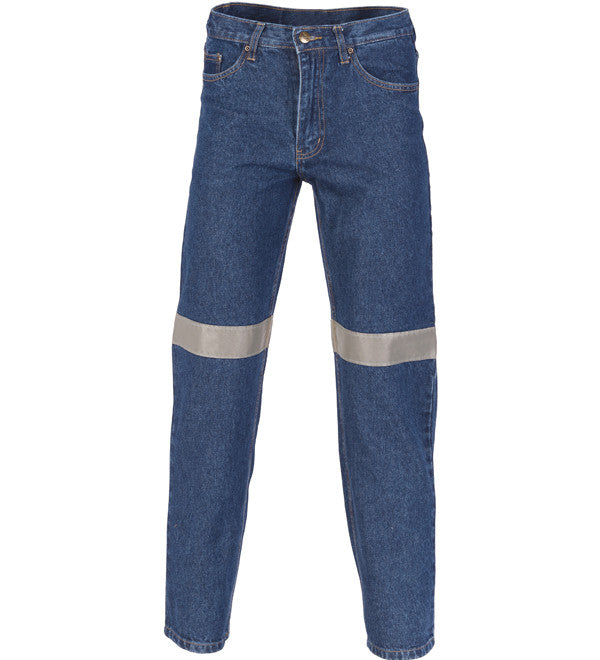 DNC Taped Denim Stretch Jeans - Regular/Stout