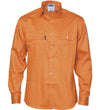 DNC Mens Patron Saint Flame Retardant L/S Drill Shirt