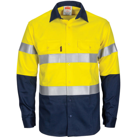 Picture of Paton Saint Flame Retardant 2 Tone Cotton Shirt with 3M F/R Tape