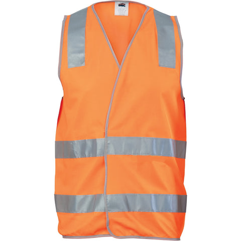 Picture of Day/Night Safety Vest with Hoop & Shoulder Generic R/Tape
