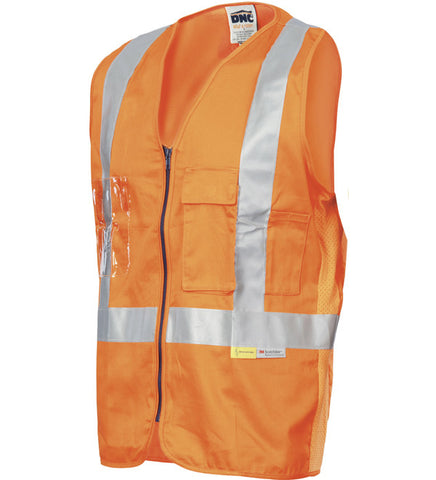 Picture of DNC Day/Night Cross Back Cotton Safety Vests