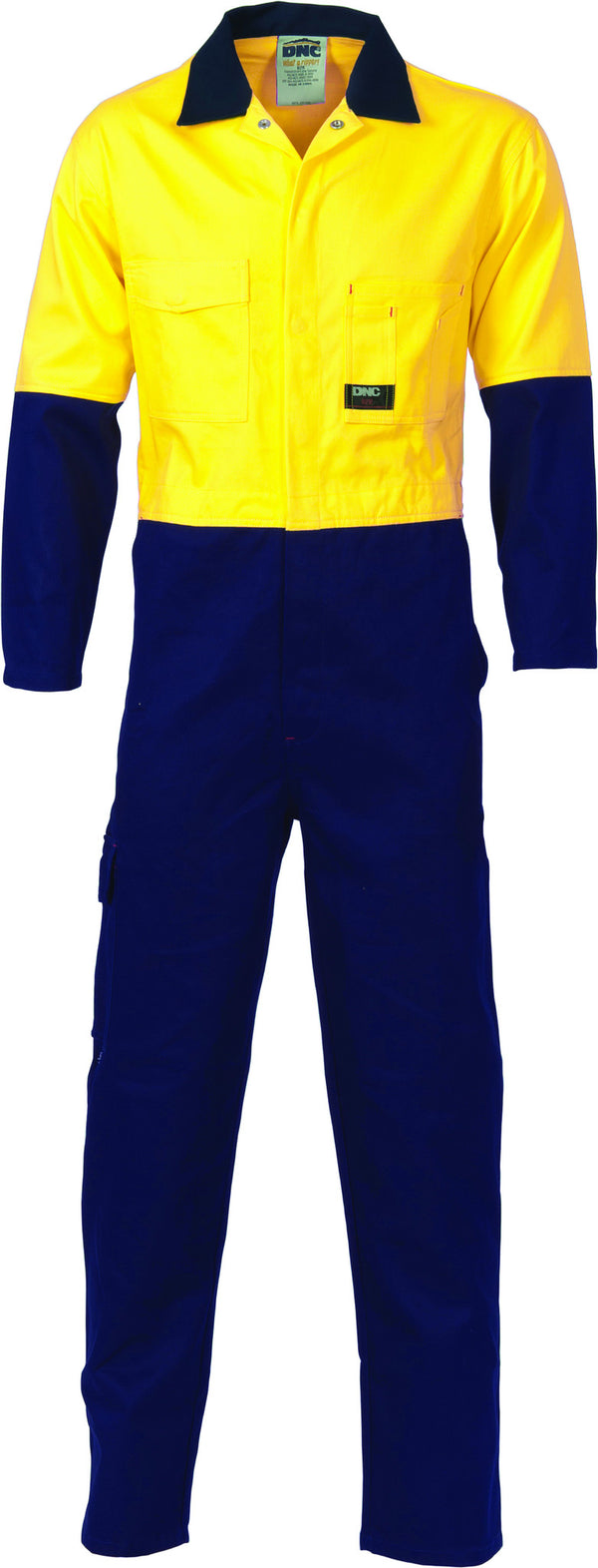 HiVis Two Tone Cotton Overall