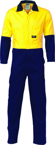 Picture of HiVis Two Tone Cotton Overall