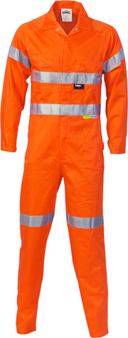 Picture of HiVis Cotton Overall With 3M Reflective Tape
