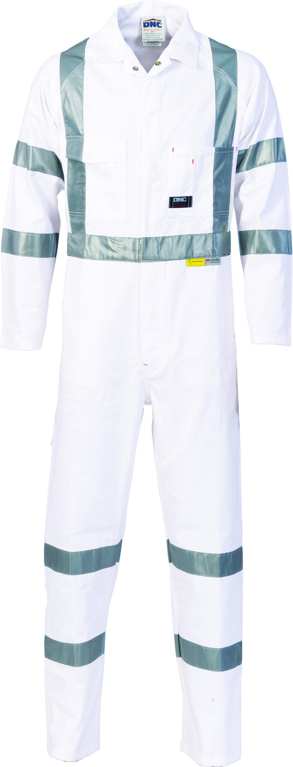 RTA Night Worker Coverall With 3M 8910 Reflective Tape