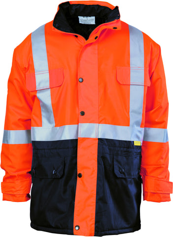 Picture of HiVis Two Tone Quilted Jacket With Reflective Tape