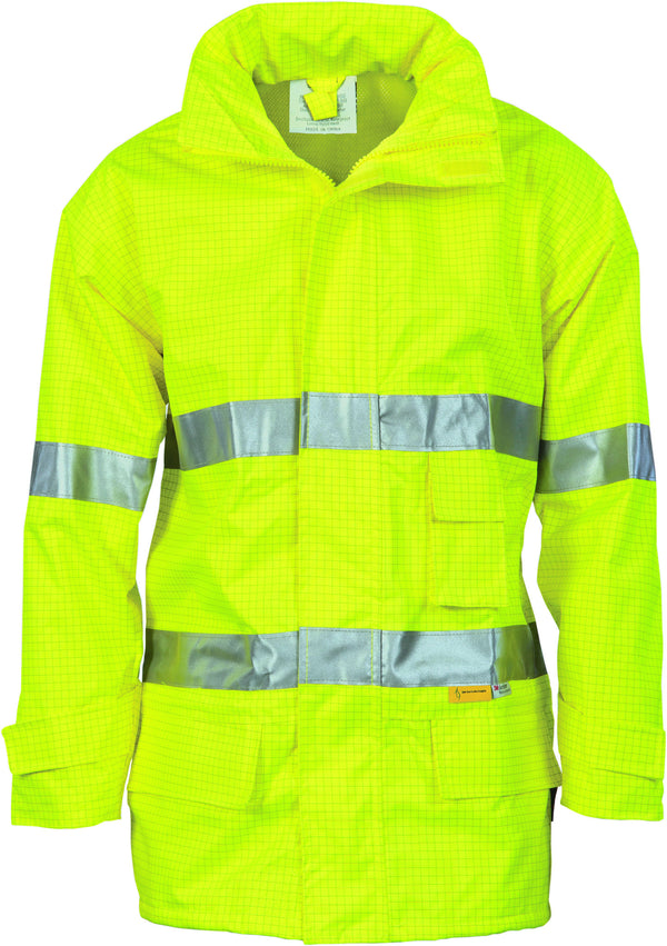 HiVis Breathable Anti-Static Jacket With Reflective Tape