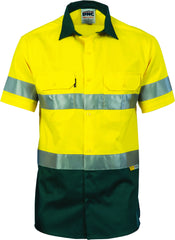 HiVis Cool-Breeze Cotton Short Sleeve With 3M 8906 Reflective Tape